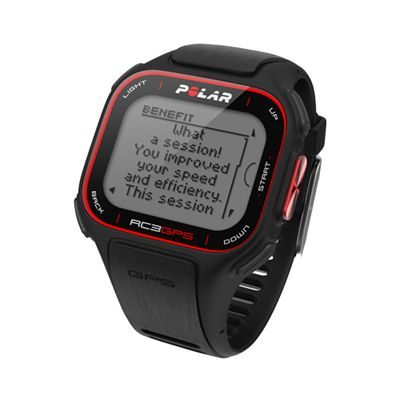 Polar RC3 GPS Sports Watch Without Heart Rate Monitor Report Information