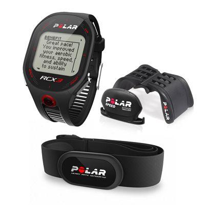 Polar RCX3 BIKE Heart Rate Monitor Black
