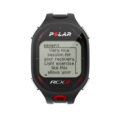 Polar RCX3 RUN Heart Rate Monitor-Black-Main-Image