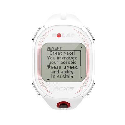 Polar RCX3 RUN Heart Rate Monitor-White-Main-Image