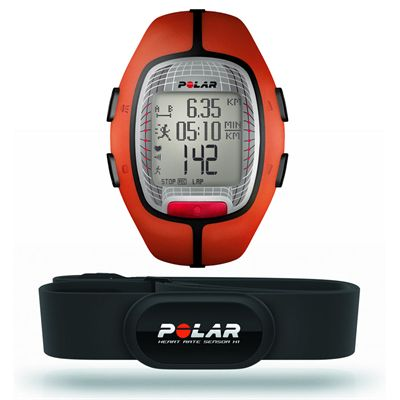 Polar RS300X Heart Rate Monitor-Orange