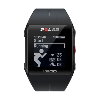 Polar V800 Heart Rate Monitor-Black-Running