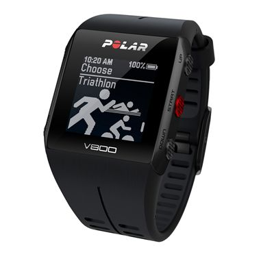Polar V800 Heart Rate Monitor-Black-Triathlon