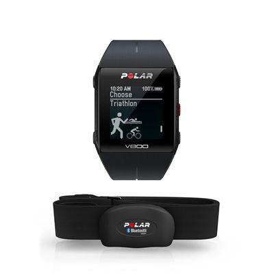 Polar V800 Heart Rate Monitor-Black