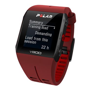 Polar V800 Heart Rate Monitor-Red-Summary