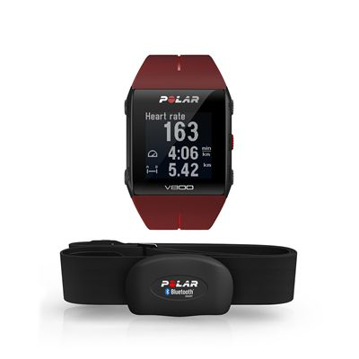 Polar V800 Heart Rate Monitor-Red