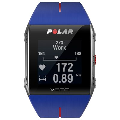 Polar V800 GPS Heart Rate Monitor Blue Image 1