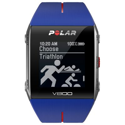 Polar V800 GPS Heart Rate Monitor Blue Image 2