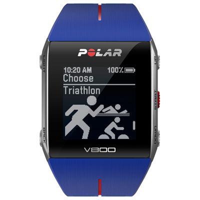 Polar V800 GPS Heart Rate Monitor Blue Image 2