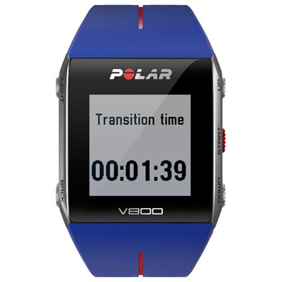 Polar V800 GPS Heart Rate Monitor Blue Image 3