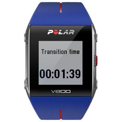 Polar V800 GPS Heart Rate Monitor Blue Image 3