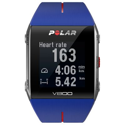 Polar V800 GPS Heart Rate Monitor Blue Image 4