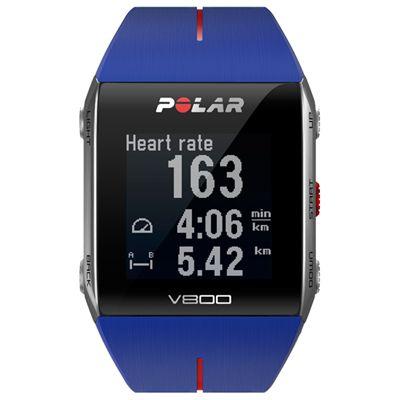 Polar V800 GPS Heart Rate Monitor Blue Image 4