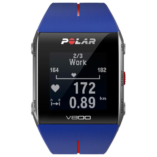 Polar V800 GPS Sports Watch - Blue