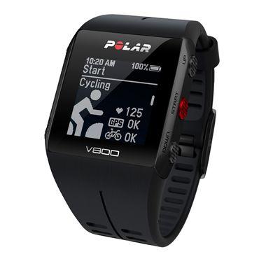 Polar V800 Combo GPS Sports Watch-Black-Cycling