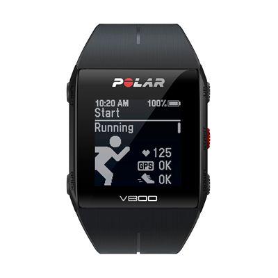 Polar V800 Combo GPS Sports Watch-Black-Running
