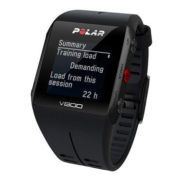 Polar V800 Combo GPS Sports Watch-Black-Summary