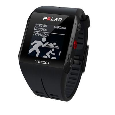 Polar V800 Combo GPS Sports Watch-Black-Triathlon