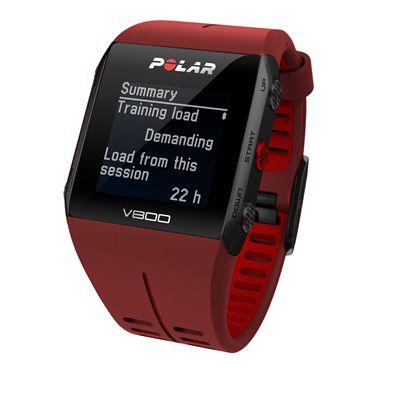 Polar V800 Combo GPS Sports Watch-Red-Summary