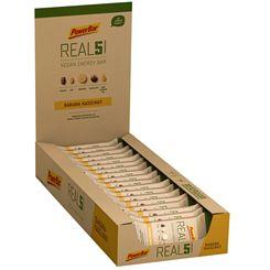 PowerBar Real5 Vegan Energy Bar - Pack of 18