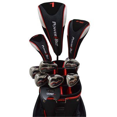 PowerBilt TPX Graphite Mens Golf Package Set - Zoomed