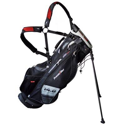 PowerBilt TPX Hybrid Golf Stand Bag - Black