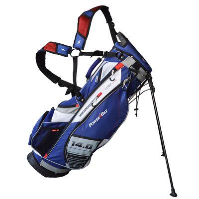 PowerBilt TPX Hybrid Golf Stand Bag - Navy