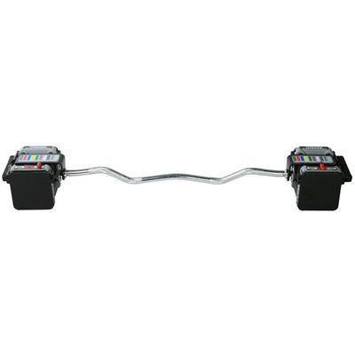 PowerBlock 46.5 Inch Urethane EZ Curl Bar