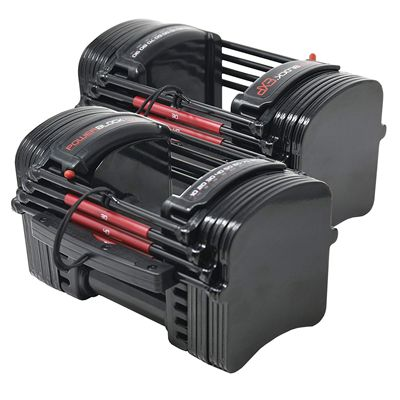 PowerBlock Elite EXP Stage 1 Adjustable Dumbbells 3
