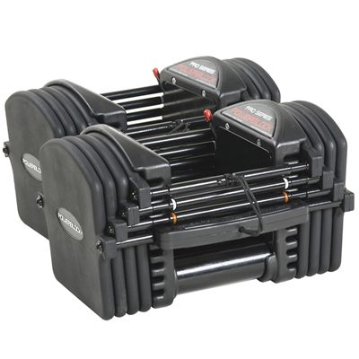 PowerBlock Pro EXP Stage 1 Adjustable Dumbbells - Side