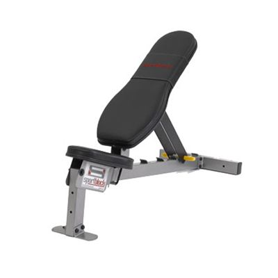 Powerblock Sport Bench Dipping Station - Angle View