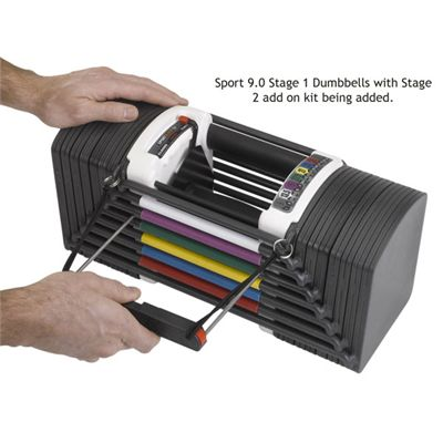 Powerblock Sports 9.0 Stage 2 Kit Image 1