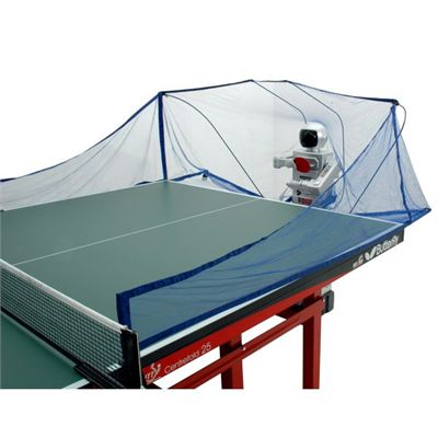 Practice Partner 10 Table Tennis Robot In Use