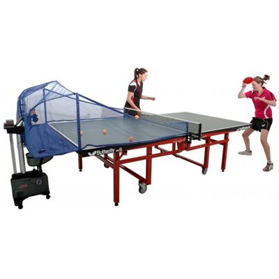 Practice Partner 100 Table Tennis Robot In Use Second View