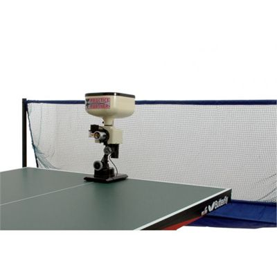 Practice Partner 20 Table Tennis Robot with Net whole view
