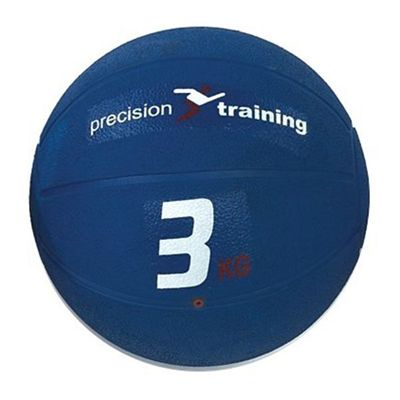 Precision Training 3kg Rubber Medicine Ball