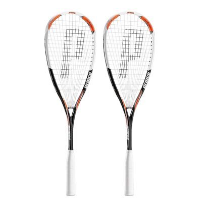 Prince Airstick 140 Power Squash Racket Double Pack
