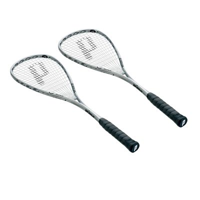 Prince O3 Black Squash Racket Double Pack