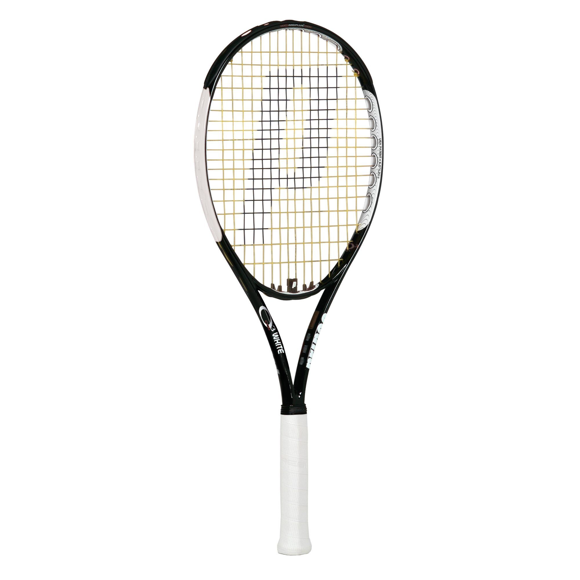 prince o3 white plus tennis racket