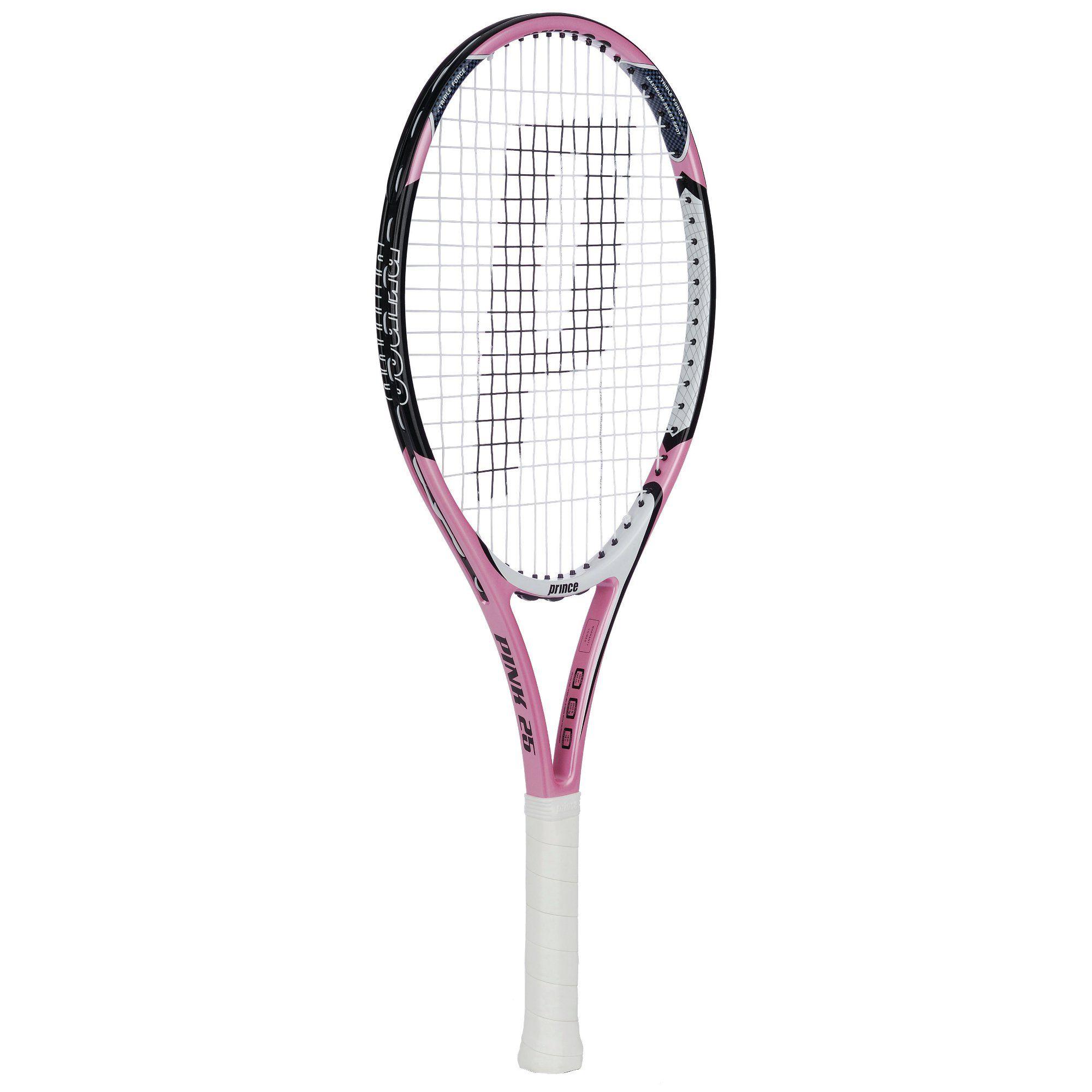 Prince Pink 25 Junior Tennis Racket - Sweatband.com