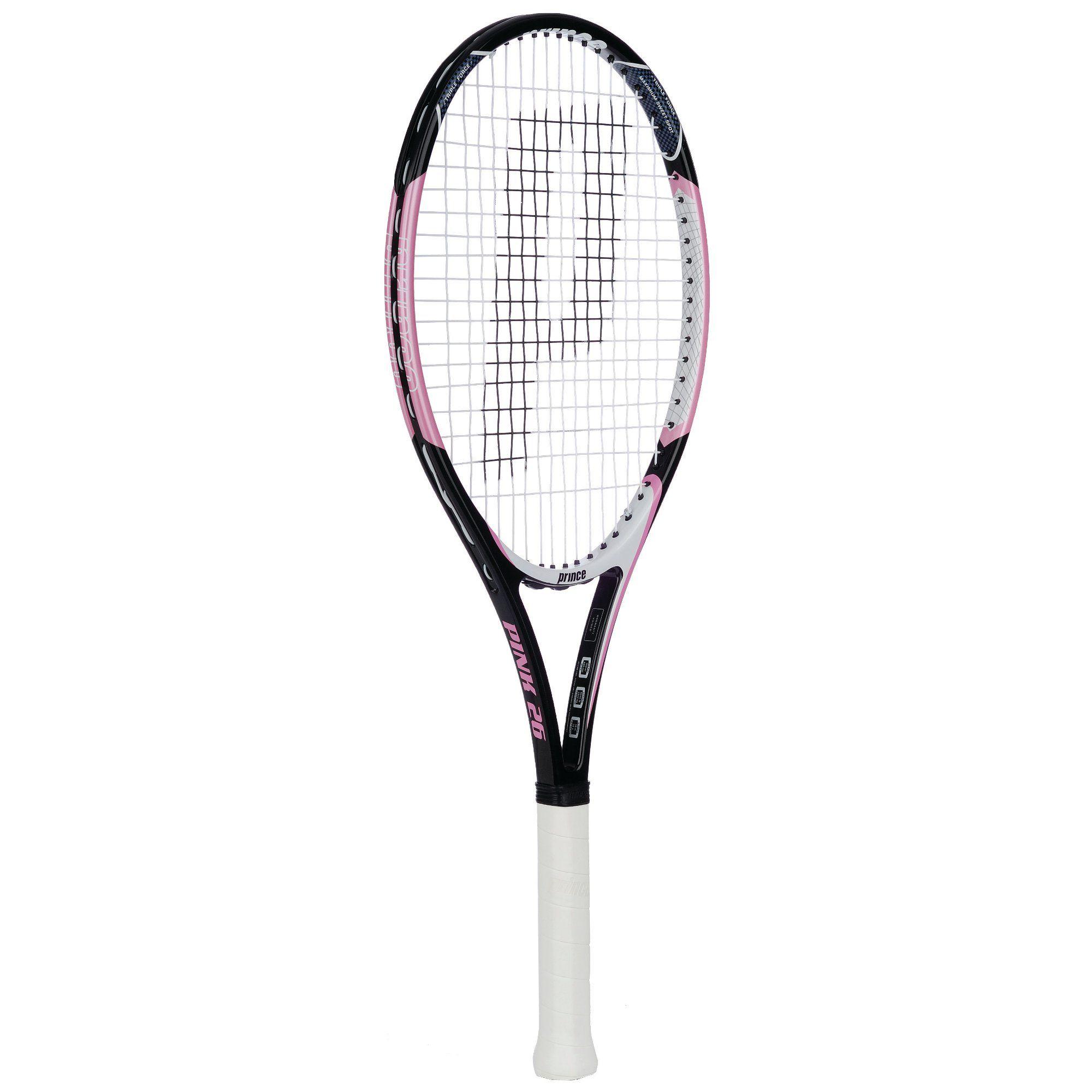 Prince Pink 26 Junior Tennis Racket - Sweatband.com