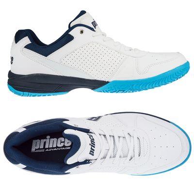 Prince Advantage Lite Mens Indoor Court Shoes - Side/Top