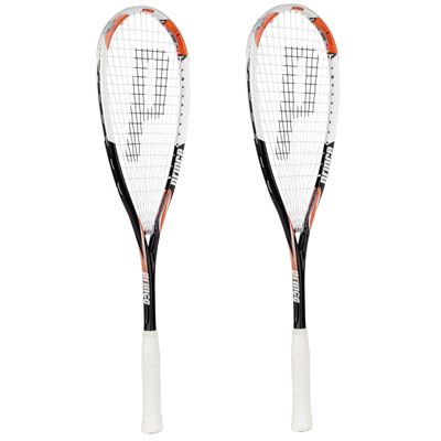 Prince Airstick Elite 140 Graphite Squash Racket Double Pack