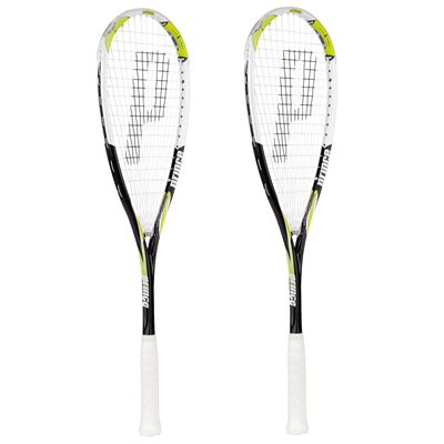 Prince Airstick Lite 130 Graphite Squash Racket Double Pack