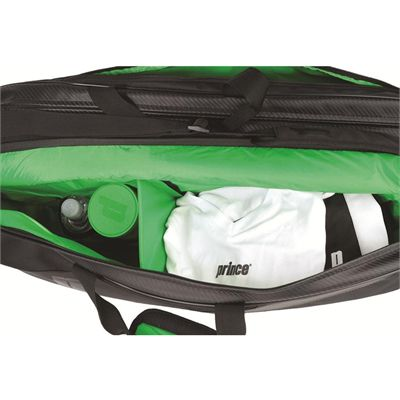 Prince Carbon 6 Racket Bag - In Use