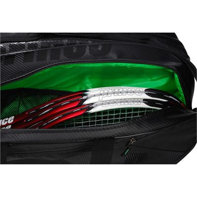 Prince Carbon 6 Racket Bag - Main Pocket