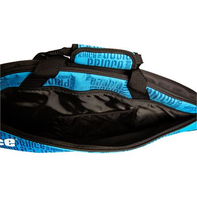 Prince Club 3 Pack Racket Bag-Black and Blue-Pcket View