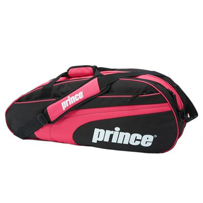 Prince Club 6 Racket Bag - Black Pink