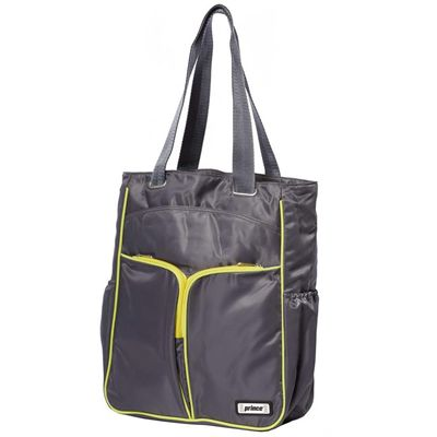 Prince  Courtside Tote Bag - Grey/Yellow