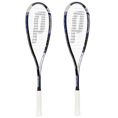 Prince EXO3 Blue Squash Racket Double Pack